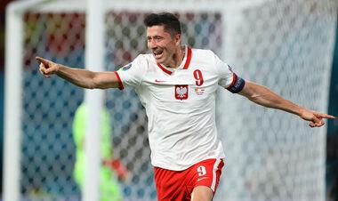 Роберт Левандовськи відкрив гольовий рахунок на третьому для себе Євро