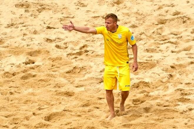 Украина проиграла Португалии в матче Евролиги по пляжному футболу