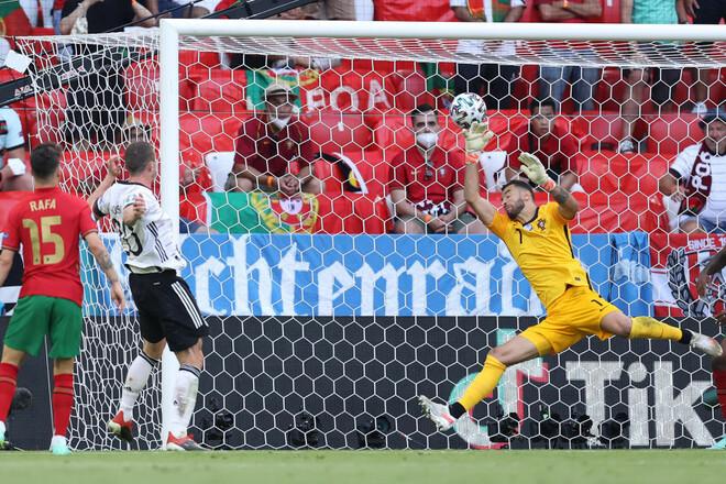 Бундестим разобрался с чемпионом. Сборная Германии обыграла Португалию