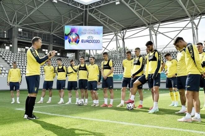 ВІДЕО. Як Україна готується до матчу проти Австрії