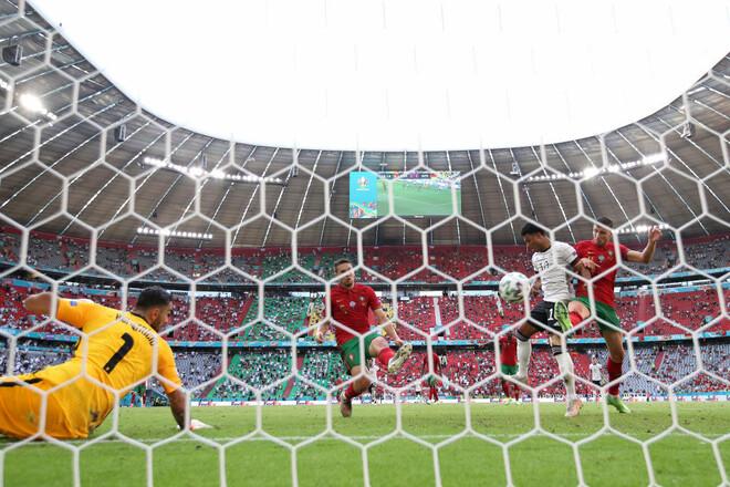 ФОТО. Разборки в Мюнхене. Как сборная Германии обыграла Португалию