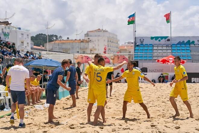 Сборная Украины по пляжному футболу пробилась в суперфинал Евролиги