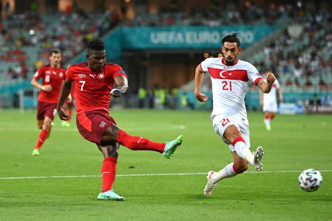 Первый гол на Евро оказался последним. Турция в Баку уступила Швейцарии