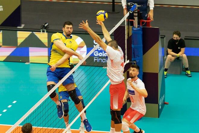 Мужская сборная Украины не смогла выиграть Золотую Евролигу