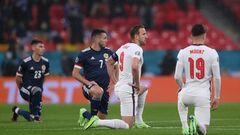 На Євро-2020 лише 6 команд встають на коліно перед матчами