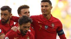 ВИДЕО. Роналду вывел Португалию вперед в матче с Германией