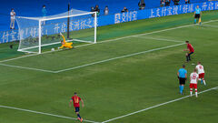 Іспанці реалізували в фінальних турнірах ЧЄ тільки 5 пенальті з 10