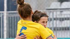 Женская сборная Украины по пляжному футболу заняла пятое место в Евролиге