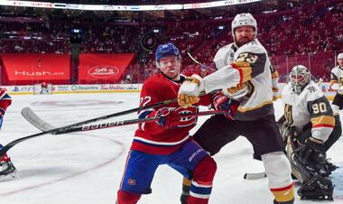 НХЛ. Напряженная битва. Вегас в овертайме обыграл Монреаль