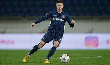 Півзахисник Шахтаря розпочав підготовку до сезону в складі Дніпра-1