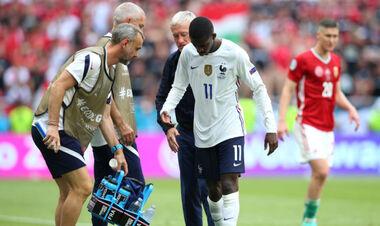 Знову травма. Вінгер збірної Франції пропустить залишок Євро