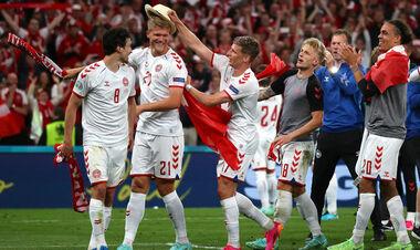 Дания – первая команда на Евро, вышедшая в плей-офф после двух поражений