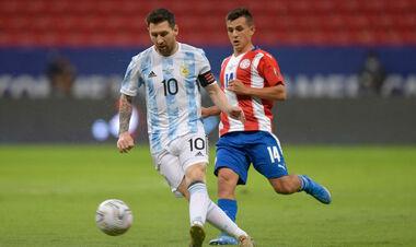 Аргентина минимально обыграла Парагвай на Кубке Америки