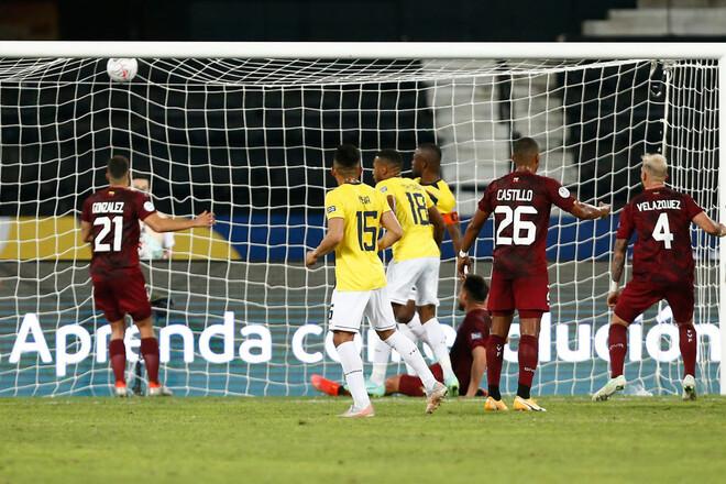 Венесуела – Еквадор – 2:2. Відео голів та огляд матчу