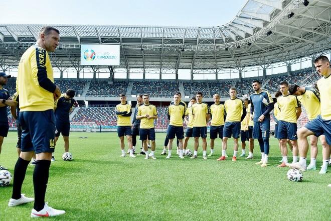 ФОТО. Сборная Украины провела тренировку перед ключевым матчем с Австрией