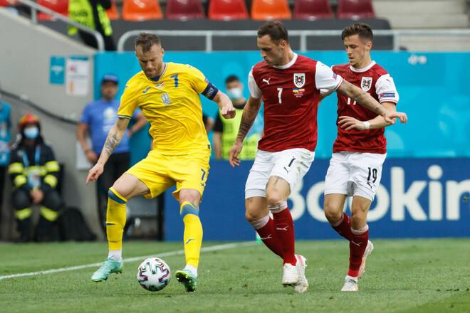 Плей-офф під великим питанням. Збірна України програла Австрії