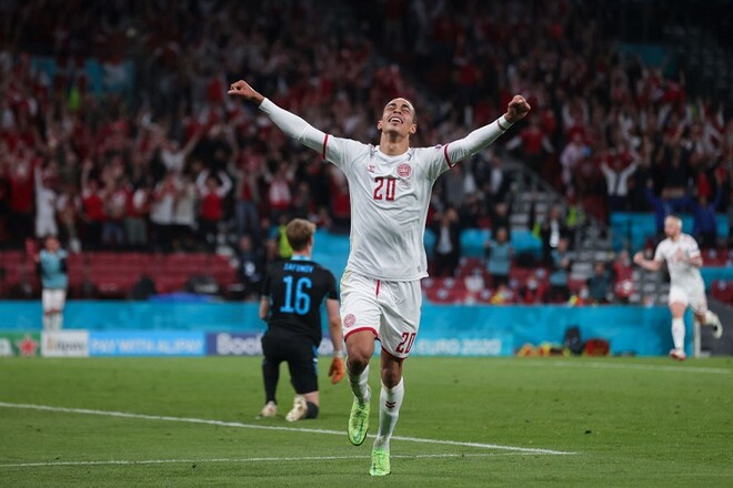 ВИДЕО. Вот это привоз! Дания забила второй гол в ворота России