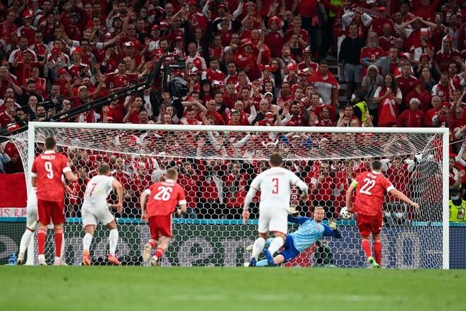 ВИДЕО. Россия с пенальти отыграла один гол в матче с Данией