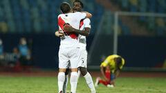 Сборная Перу выиграла у Колумбии на Кубке Америки