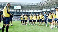 ФОТО. Збірна України провела тренування перед ключовим матчем з Австрією