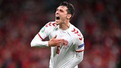 ВИДЕО. Дания забила третий гол в ворота России