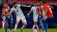 Аргентина – Парагвай – 1:0. Видео гола и обзор матча