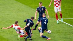 ВІДЕО. Точний удар Влашича. Хорватія відкрила рахунок в грі з Шотландією