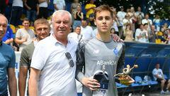 Сын Григория Суркиса стал чемпионом Украины в составе Динамо U-15
