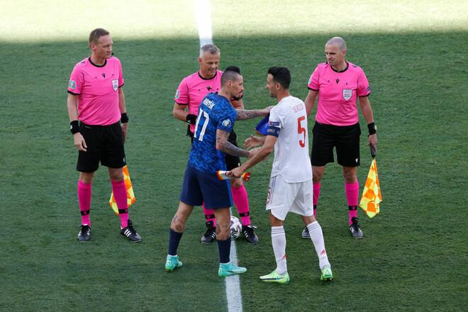 Словаччина – Іспанія – 0:5. Розгром у Севільї. Відео голів та огляд матчу