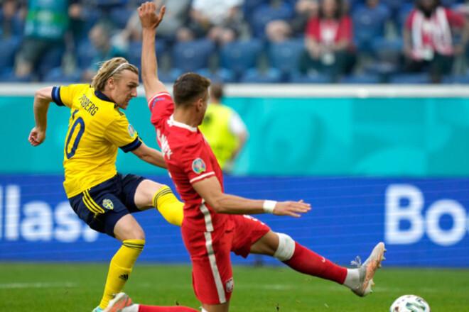 ВИДЕО. Быстро! Швеция на второй минуте забивает в ворота Польши