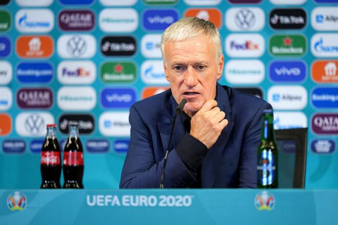 Дидье ДЕШАМ: «Подарили Португалии два гола»