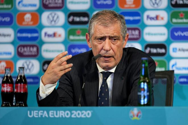 Фернанду САНТУШ: «Португалия играла мощно»