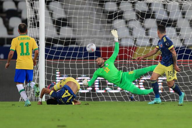 ВИДЕО. Шедевр на Кубке Америки: Луис Диас забил Бразилии «ножницами»