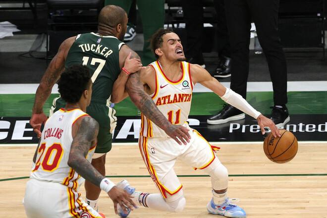 НБА. Исторический матч Янга помог Атланте обыграть Милуоки