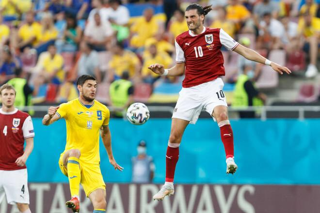 Украина – худшая команда Евро по проценту выигранных верховых дуэлей