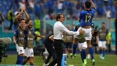 Манчини в групповом турнире задействовал 25 игроков