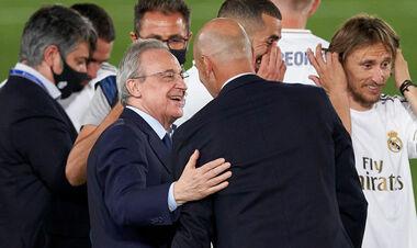 Флорентино ПЕРЕС: «Зидан мечтает возглавить сборную Франции»