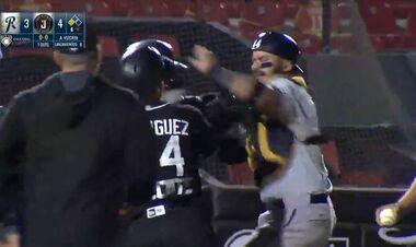 ВИДЕО. Драка с битами. Массовое побоище устроили бейсболисты в Мексике