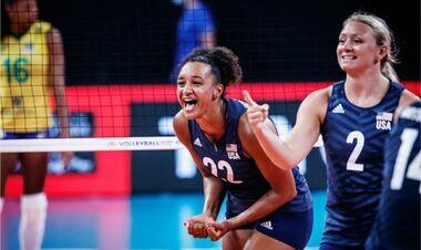 Збірна США стала переможцем жіночої Ліги націй з волейболу