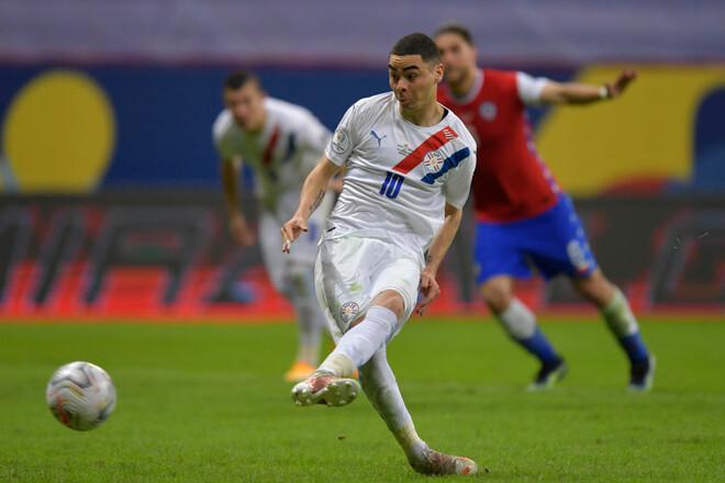 Парагвай уверенно обыграл Чили на Кубке Америки