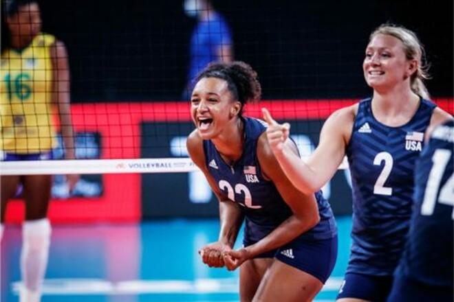 Сборная США стала победителем женской Лиги наций по волейболу