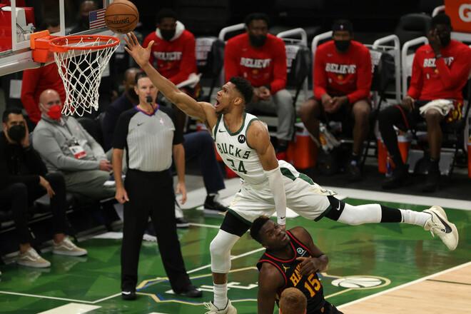 НБА. Милуоки выиграл у Атланты во 2-м матче финала Восточной конференции