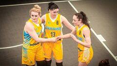 Женская сборная Украины вышла в плей-офф отбора на Евробаскет 3х3