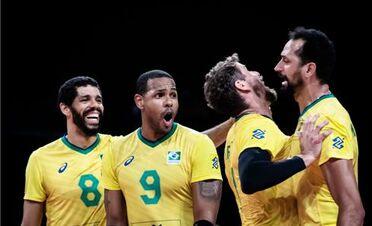 Волейбольний марафон чоловічої Ліги націй завершився перемогою Бразилії