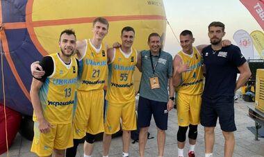 Сборная Украины по баскетболу 3х3 вышла на чемпионат Европы