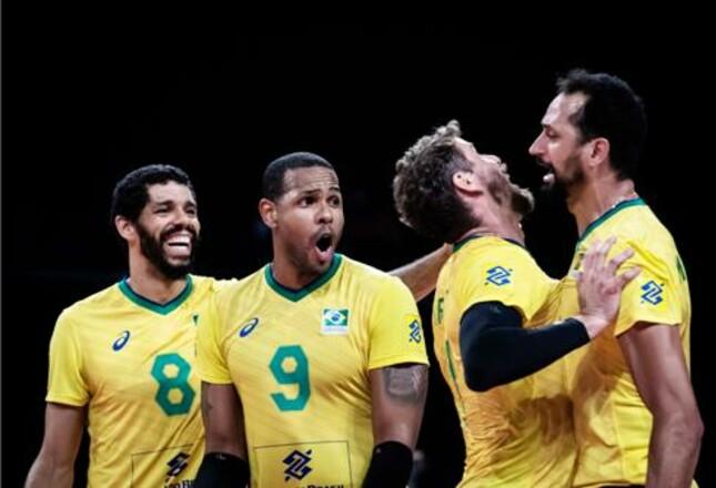 Волейбольный марафон мужской Лиги наций завершился победой Бразилии