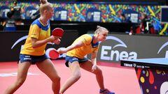 Украинки завоевали бронзу на чемпионате Европы по настольному теннису