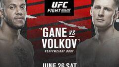 Где смотреть онлайн UFC: Сирил Ган – Александр Волков