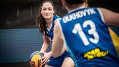 Женская сборная Украины вышла на чемпионат Европы по баскетболу 3х3