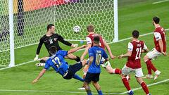 ВІДЕО. Італія дотиснула Австрію в овертаймі. Пессіна забив другий гол